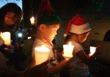 성탄절 촛불예배